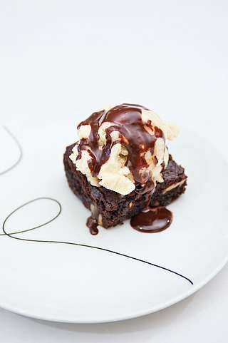 Vegane Schoko Pekannuss Brownies Amicella De