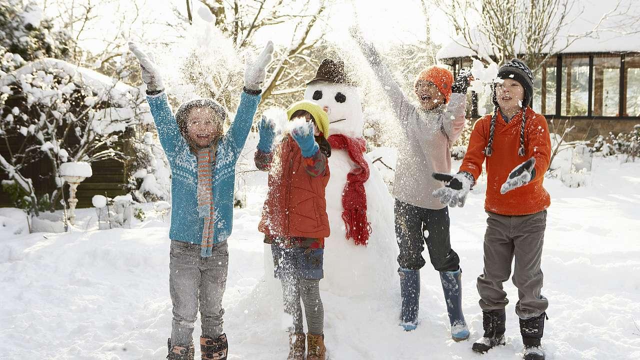 Kindergeburtstag Feiern Im Winter