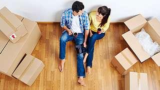 Die erste gemeinsame Wohnung: Zusammenziehen ohne Stress ...