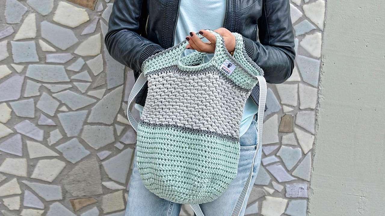 Lässige Shopping Bag Tono Amicellade