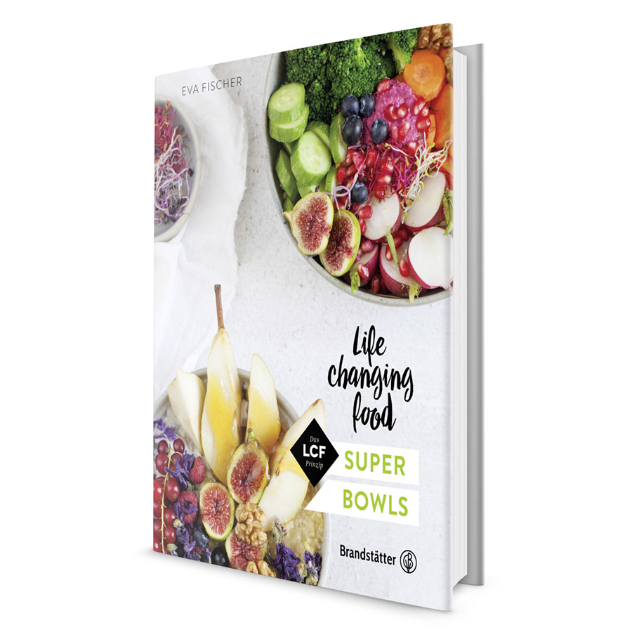 Buchcover Super Bowls - Life changing Food