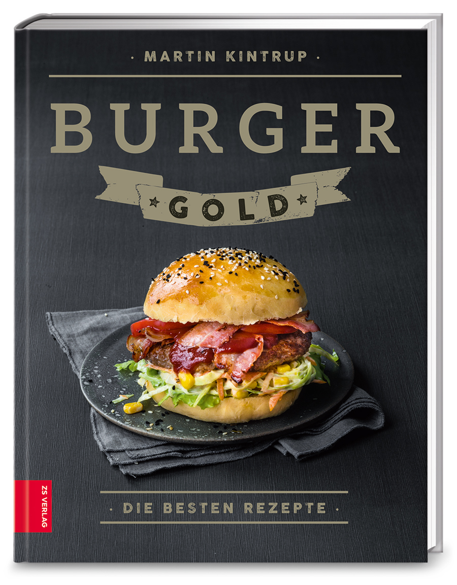 Buchcover Burger Gold