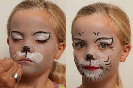 Kinderschminken 14 Schminkideen Für Karneval Halloween