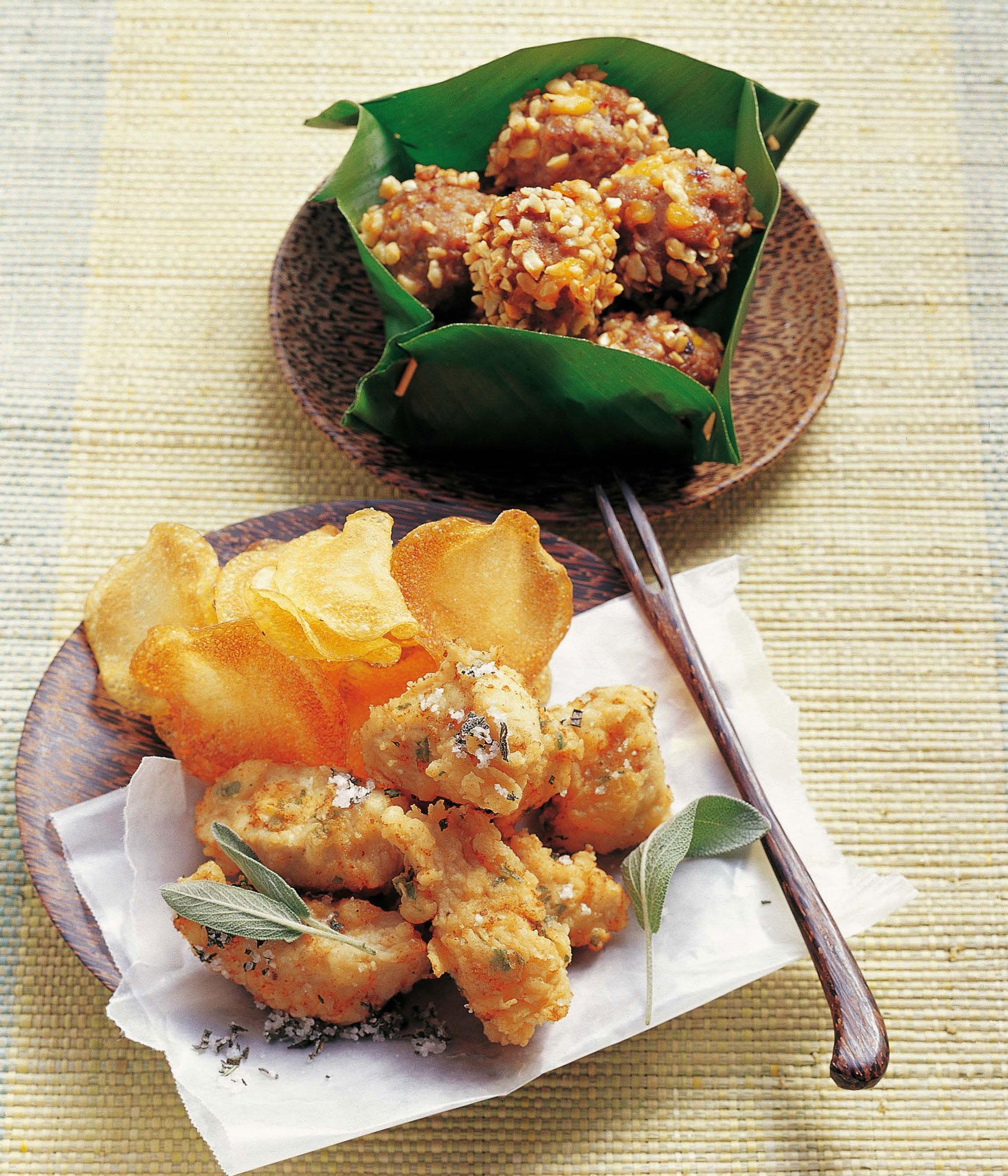 Kräuter-Hähnchen-Nuggets