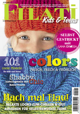 Magazincover LANA GROSSA-Magazin KIDS-Pocket Nr.1