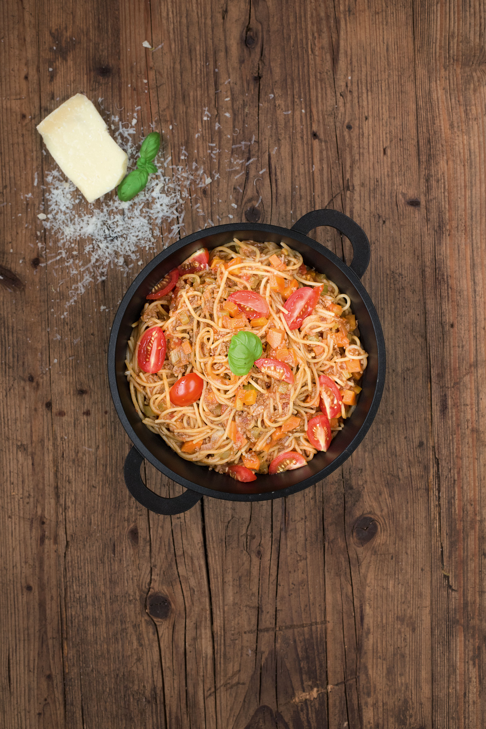 One-Pot-Pasta im Topf