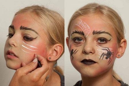 Kinderschminken 14 Schminkideen Fur Karneval Halloween Co