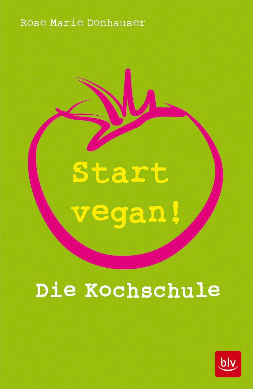 Buchcover: Start vegan!