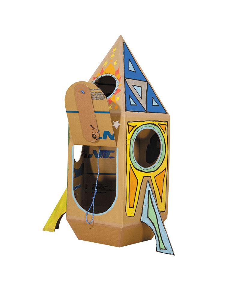 Raumfahrt Im Kinderzimmer So Baut Man Eine Space Rakete Aus