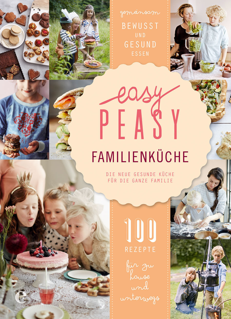 Buchcover Easy Peasy Familienküche